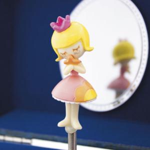 Coffre à bijoux en bois Princesse