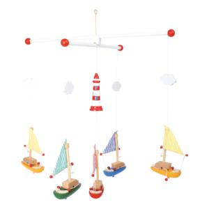 Mobile en bois En mer