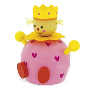 Tirelire en bois Princesse
