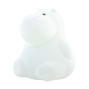 Veilleuse multicolore rechargeable Hippopotame