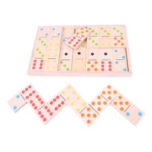 Jeu de domino XL en couleurs