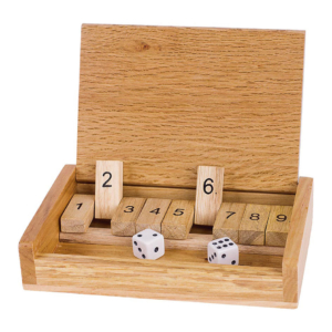 Shut the box de poche