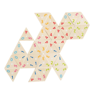 Tri-domino en bois