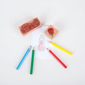 Boîte de tampons Princesses
