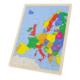 Puzzle en bois 96 pièces Carte de l'Europe