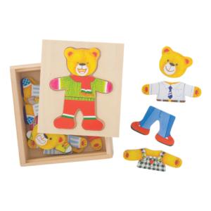 Boîte puzzle Ourson à habiller