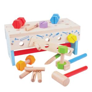 Établi boîte à outils 2 en 1