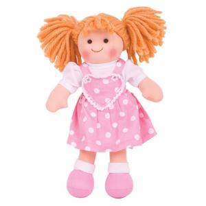 Petite poupée de chiffon Zélie