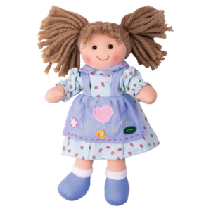 Petite poupée de chiffon Lily