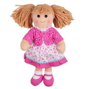 Grande poupée de chiffon Louise
