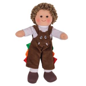 Petite poupée de chiffon Théo