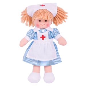 Petite poupée de chiffon Infirmière