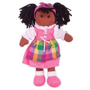 Petite poupée de chiffon Mia