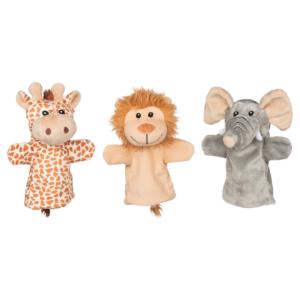 Marionnettes à main Animaux de la savane