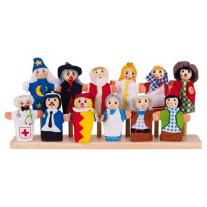 Marionnettes à doigts Personnages