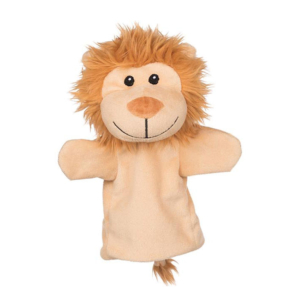 Marionnette à main Lion