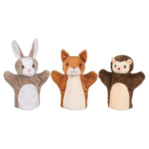 Marionnettes à main Animaux de la forêt