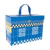 Valisette en carton Commissariat de police