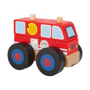 Camion de pompiers à assembler