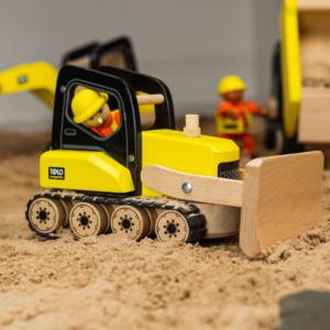 Bulldozer en bois