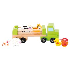 Camion à tirer Animaux de la ferme