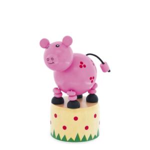 Wakouwa jouet en bois articulé Cochon