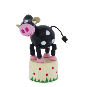 Wakouwa jouet en bois articulé Vache