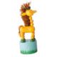 Jouet en bois articulé Girafe
