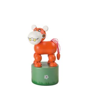 Jouet en bois articulé Hippopotame