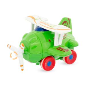 Avion à friction vert