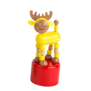 Wakouwa jouet en bois articulé Élan