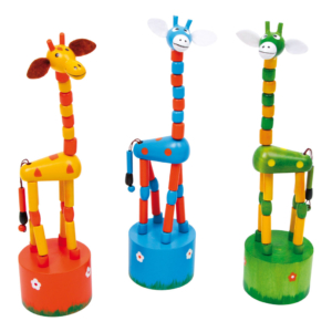 Wakouwas jouets en bois articulés Girafe