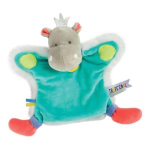 Doudou marionnette Hippopotame