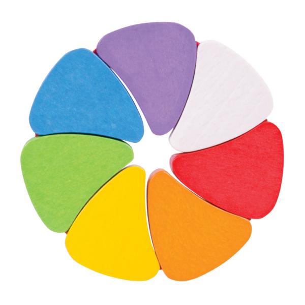 Hochet multicolore Rosace