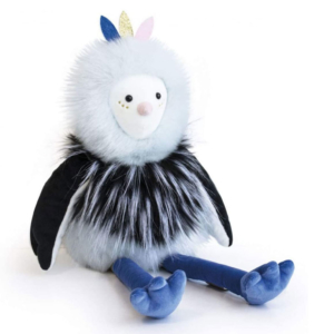 Peluche Oiseau Piaf Pouf 50 cm
