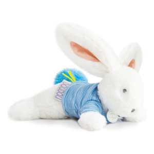 Peluche Lapin bleu