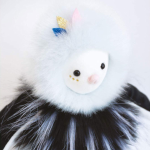 Peluche Oiseau Piaf Pouf 30 cm