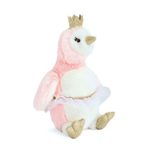 Peluche Pingouin rose