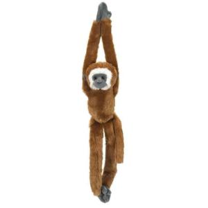 Peluche singe à scratch Gibbon
