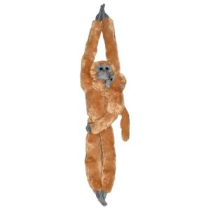 Peluche singe à scratch maman Langur