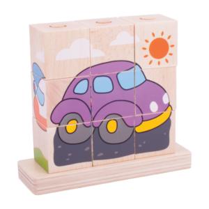 Cubes à empiler Transports