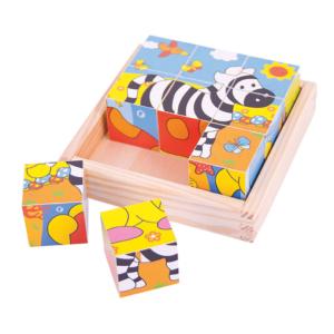 Puzzle cubes Safari