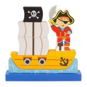 Puzzle magnétique en bois Pirate