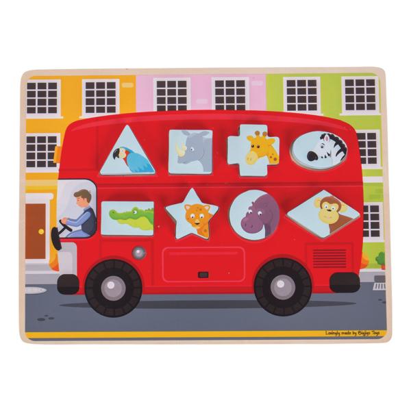 Puzzle à encastrer Bus