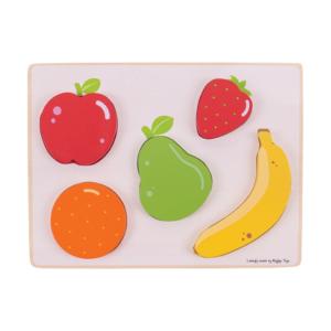 Puzzle à encastrer en bois Fruits