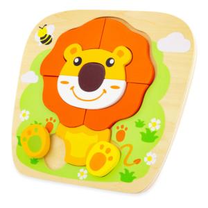 Puzzle en bois Lion