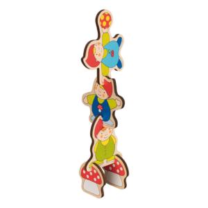 Puzzle 3D en bois Lutins