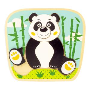 Puzzle en bois Panda