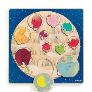 Puzzles Animaux colorés